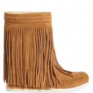 Angel Suede Fringe Boot from Calypso St Barths